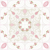 Bullion Rose Trellis Quilt - 5x5