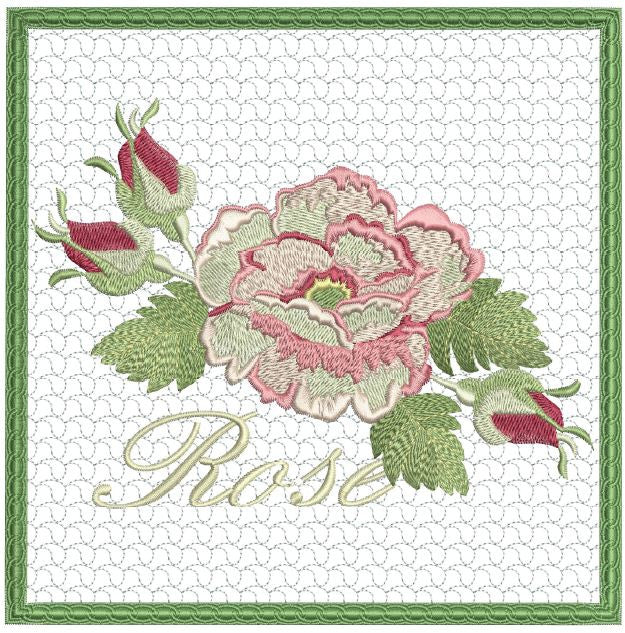 Cabbage Rose Mug Mat