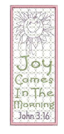 Joy In The Morning Bookmark