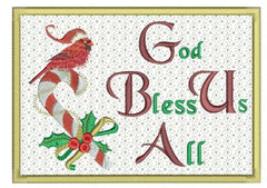 God Bless Us All Greeting Card