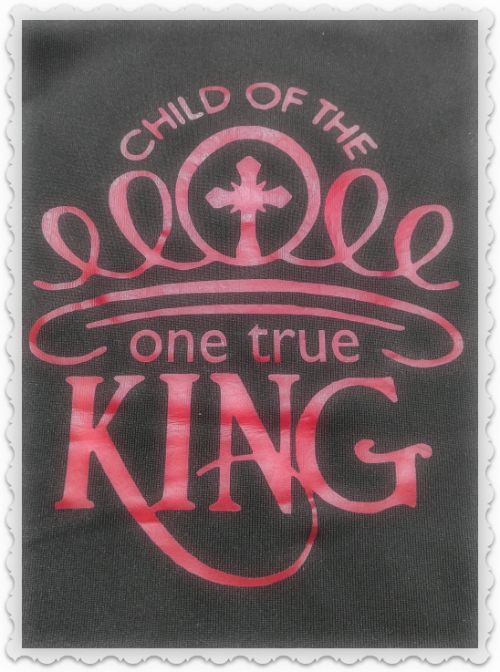 Child Of The One True King - SVG