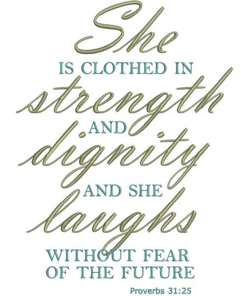 Clothed in Strength 4x4