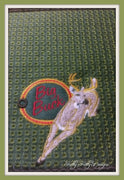 Big Buck Checkbook Cover 8x8
