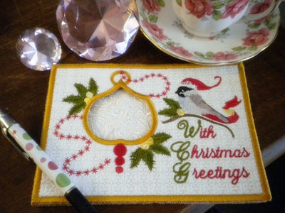 Christmas Greetings - Greeting Card