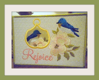 Rejoice Easter Card