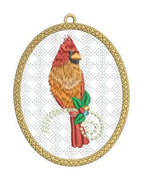 Christmas Cardinal Ornaments