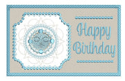 Frost Queen Winter Birthday Greetings