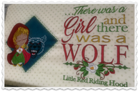 The Girl And The Wolf 8x12