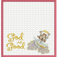 God Is Good Checkbook Cover 8x8