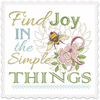 Good Tidings 5x5 Wall Hanging