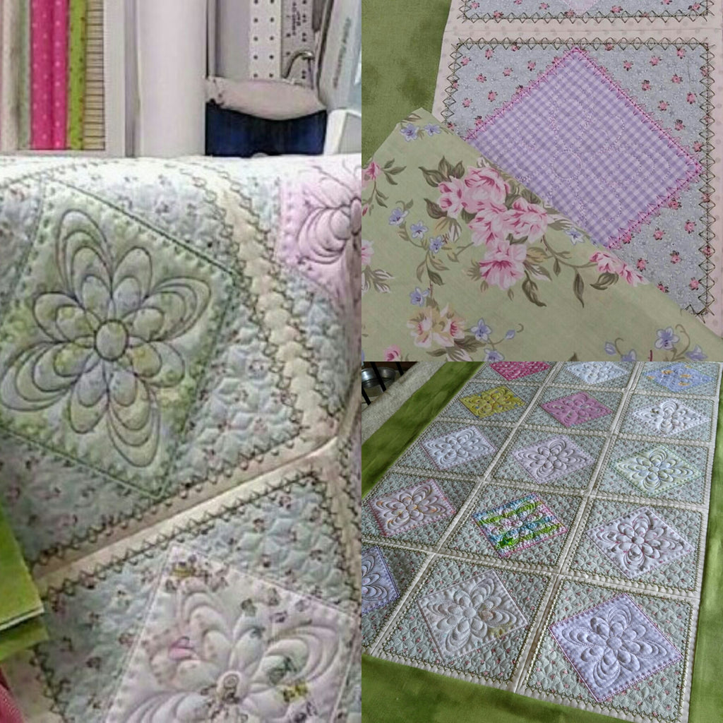All Tucked In Crib Quilt 8x8