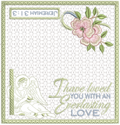 I Have Loved You Checkbook Cover 8x8