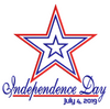 Independence Day 2019 5x7
