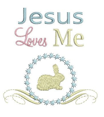 Jesus Loves Me Motif