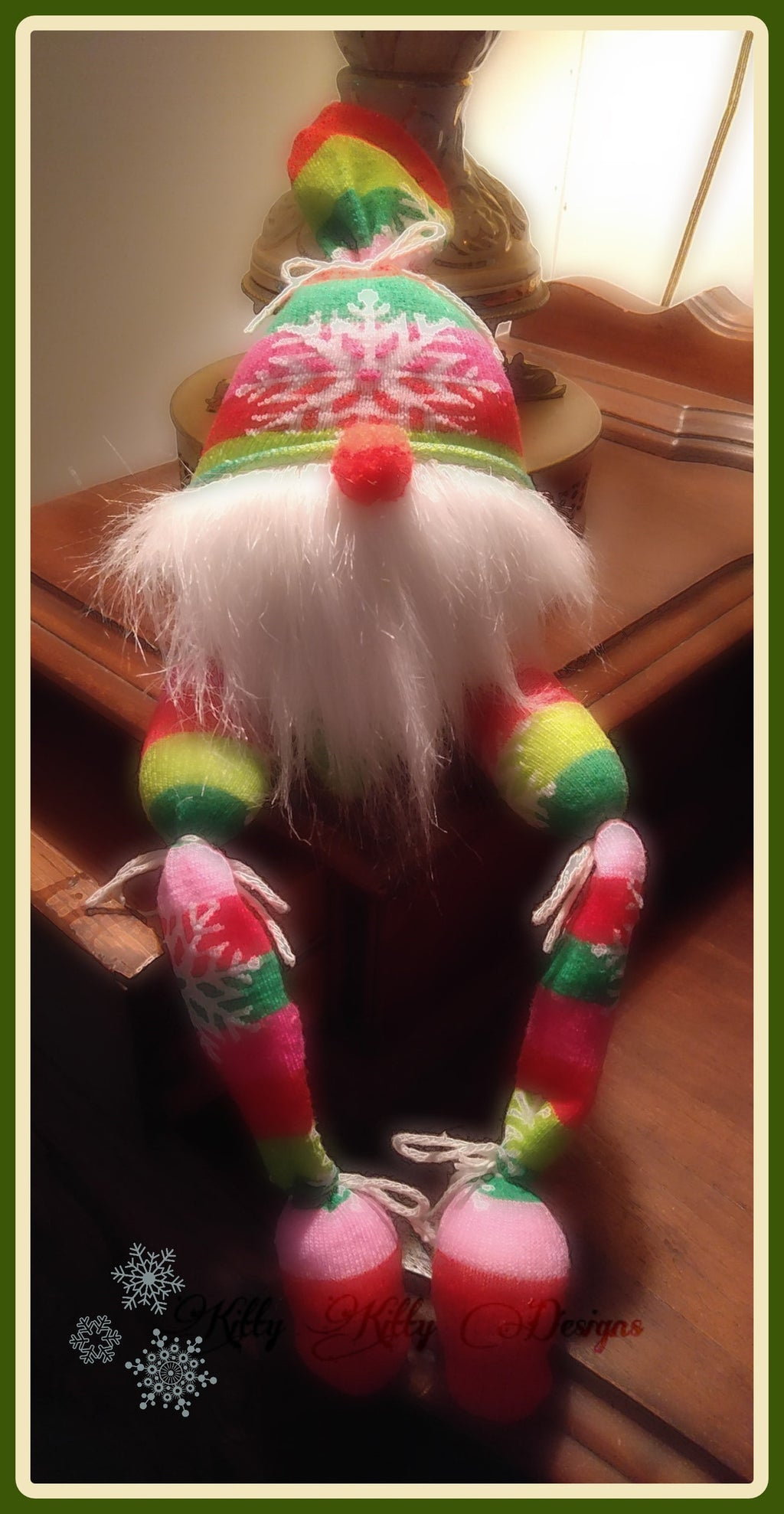 Jingles The Christmas Elf 8x12