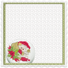 Jolly Merry Checkbook Cover 8x8