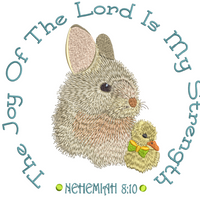 The Joy Of The Lord - Easter 8x8