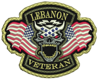 Lebanon Veteran Patch