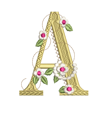 Storybook Letter A