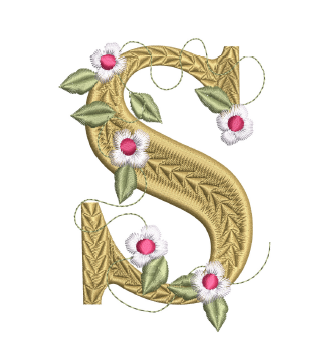 Storybook Letter S