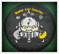 Mountain Artist Democracy Patch