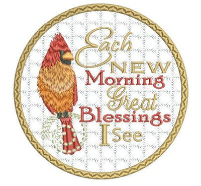 New Morning Blessings Coaster