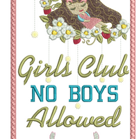No Boys Allowed 8x8