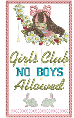 No Boys Allowed 8x12