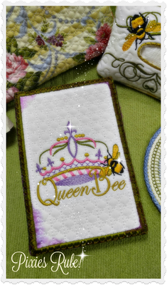 Queen Bee Notepad 5x7