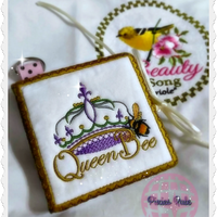 Queen Bee Sticky Notes Notepad Cover