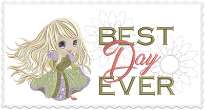 Rapunzel - Best Day Ever 8x8