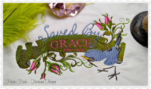 Saved By Grace 5x7