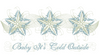 Snow Star Place Mat 6X9