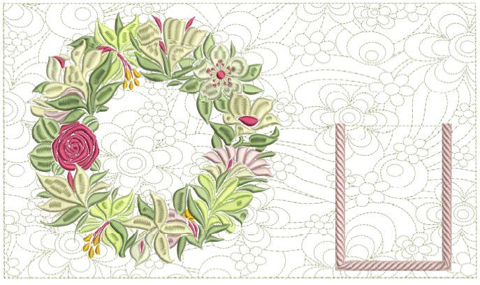Spring Is Here Place Mat 7x12