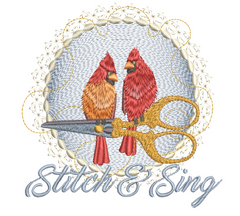 Stitch and Sing 6x6