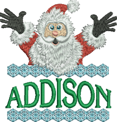 Surprise Santa Name - Addison