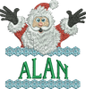 Surprise Santa Name - Alan