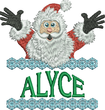 Surprise Santa Name - Alyce