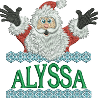 Surprise Santa Name - Alyssa