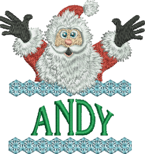 Surprise Santa Name - Andy