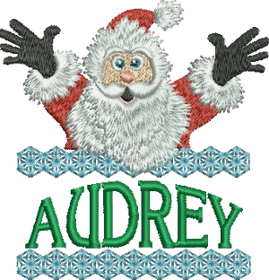 Surprise Santa Name - Audrey