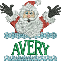 Surprise Santa Name - Avery