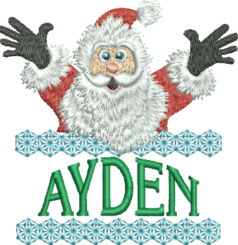 Surprise Santa Name - Ayden