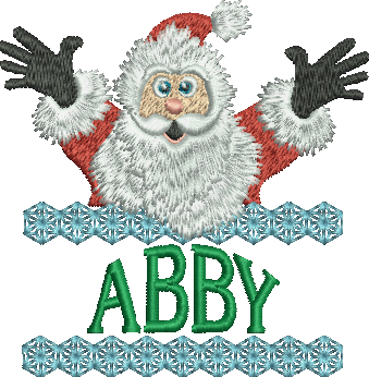 Surprise Santa Name - Abby