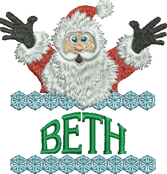 Surprise Santa Name - Beth