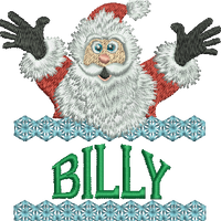 Surprise Santa Name - Billy