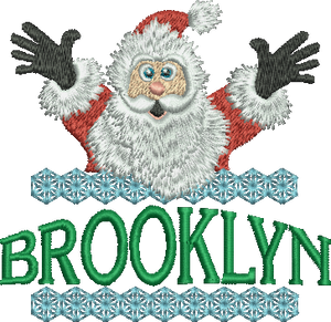 Surprise Santa Name - Brooklyn