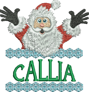 Surprise Santa Name - Callia