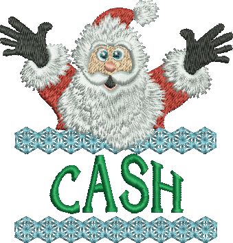 Surprise Santa Name - Cash