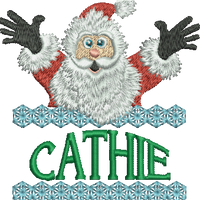 Surprise Santa Name - Cathie